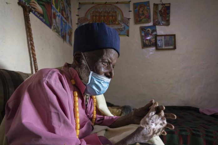 Ethiopian monk said to be 114 years old
