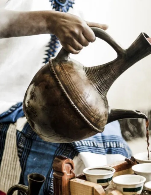 Culturally Yours Podcast Traditional Ethiopian Coffee Ceremony
