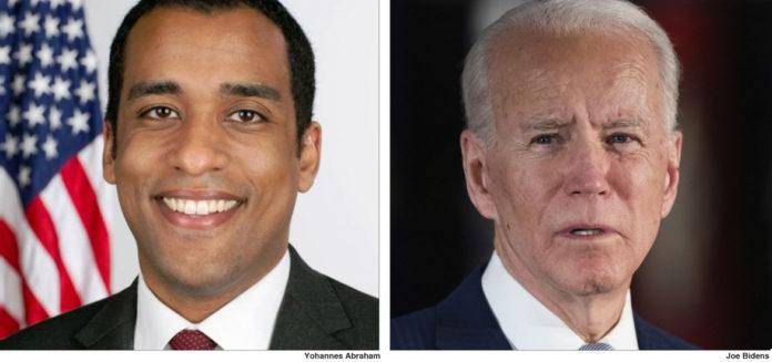 Ethiopian-American Yohannes for Biden