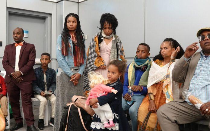 Ethiopian immigrants Ben Gurion Airport