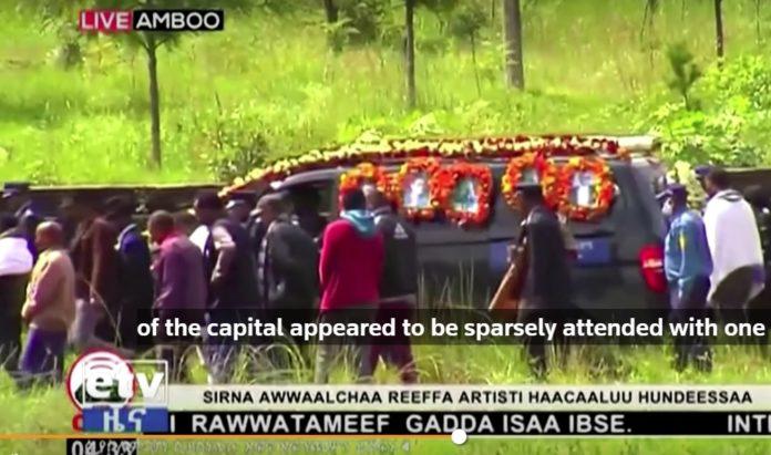 Funeral Ethiopia Haacaaluu Hundeessaa