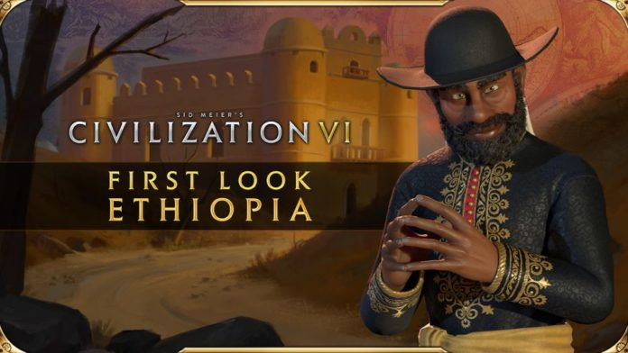 Civilization VI gets first look at Ethiopia and its leader Menelik II