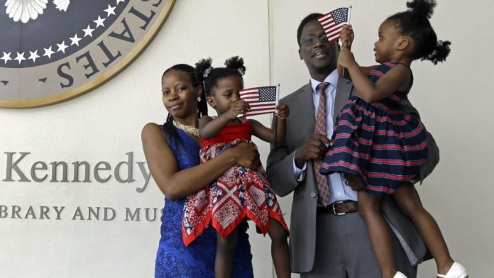 Ugandan-American family US citizens