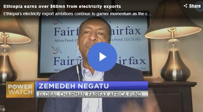 Ethiopia earns over $60mn from electricity exports