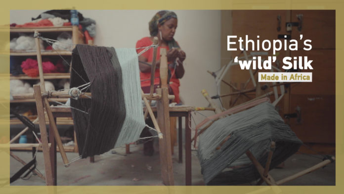 Made in Africa: Ethiopian weaver modernizes ancient craft
