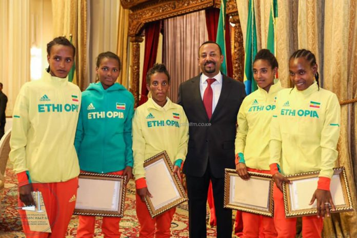 Ethiopia Prime Minister Abiy Ahmed has been awarded with the highest African sport recognition